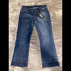 Dear John Crop Jeans /Brand New With Tags